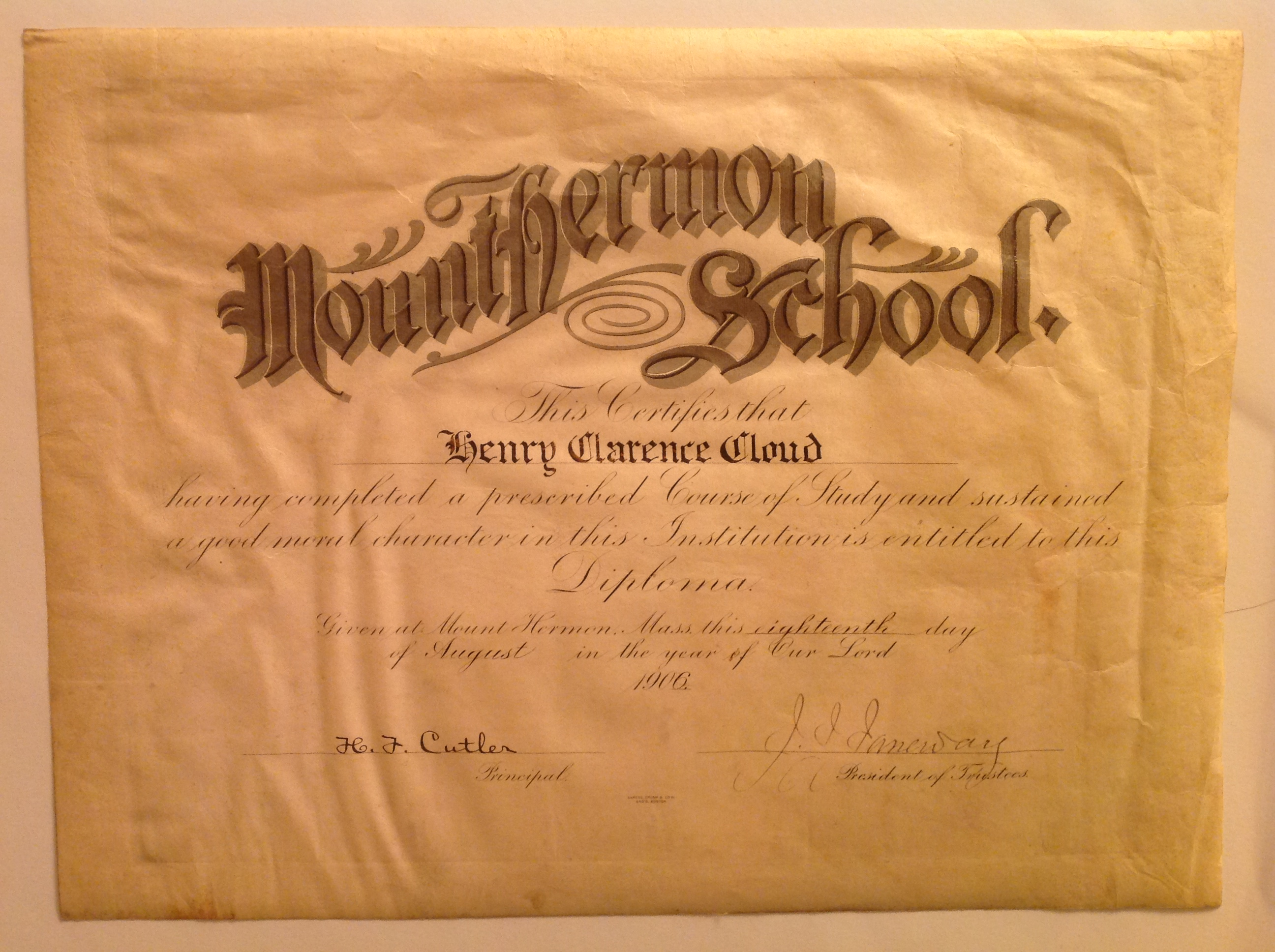 Item 01 MountHermon1906